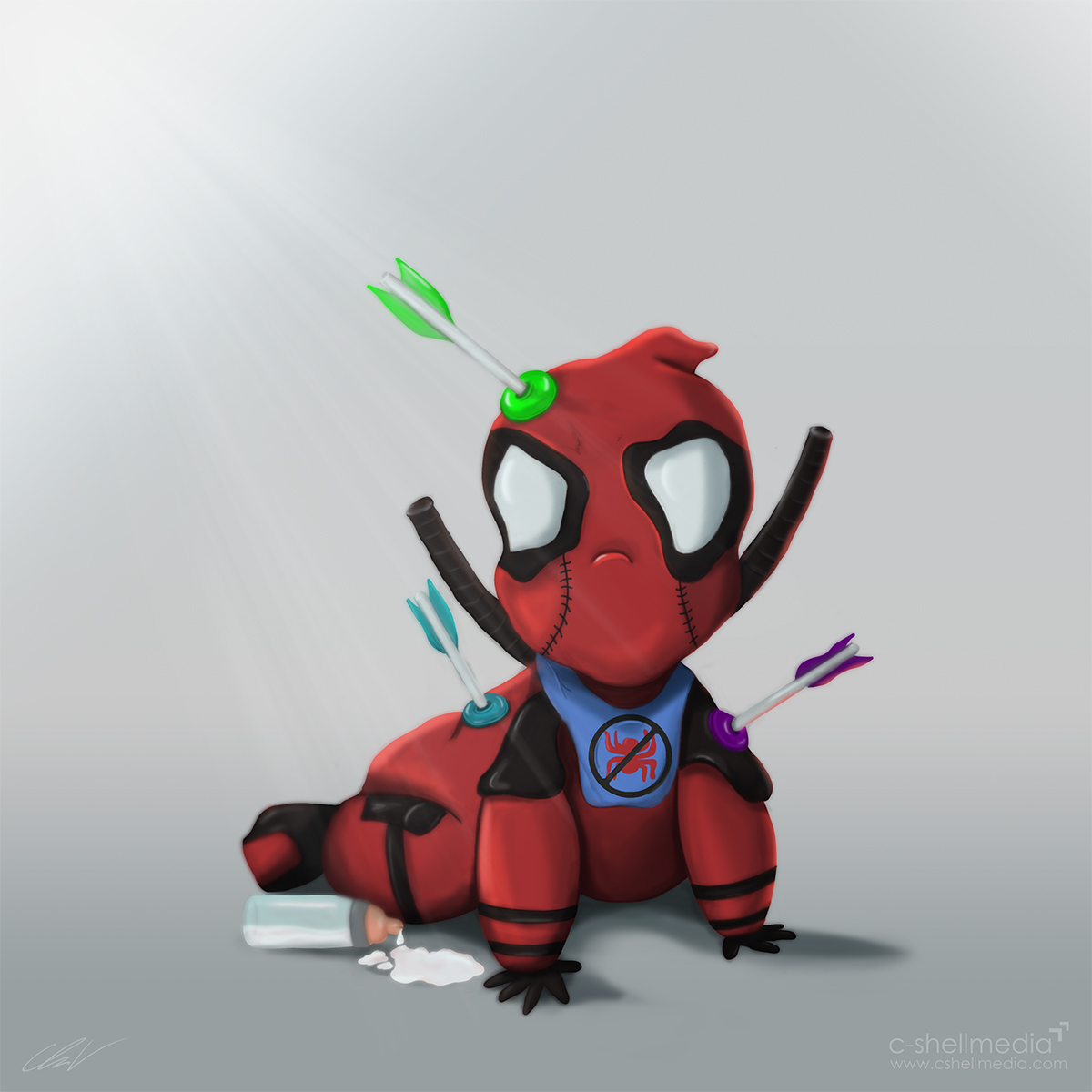 Fan Art - Baby Deadpool