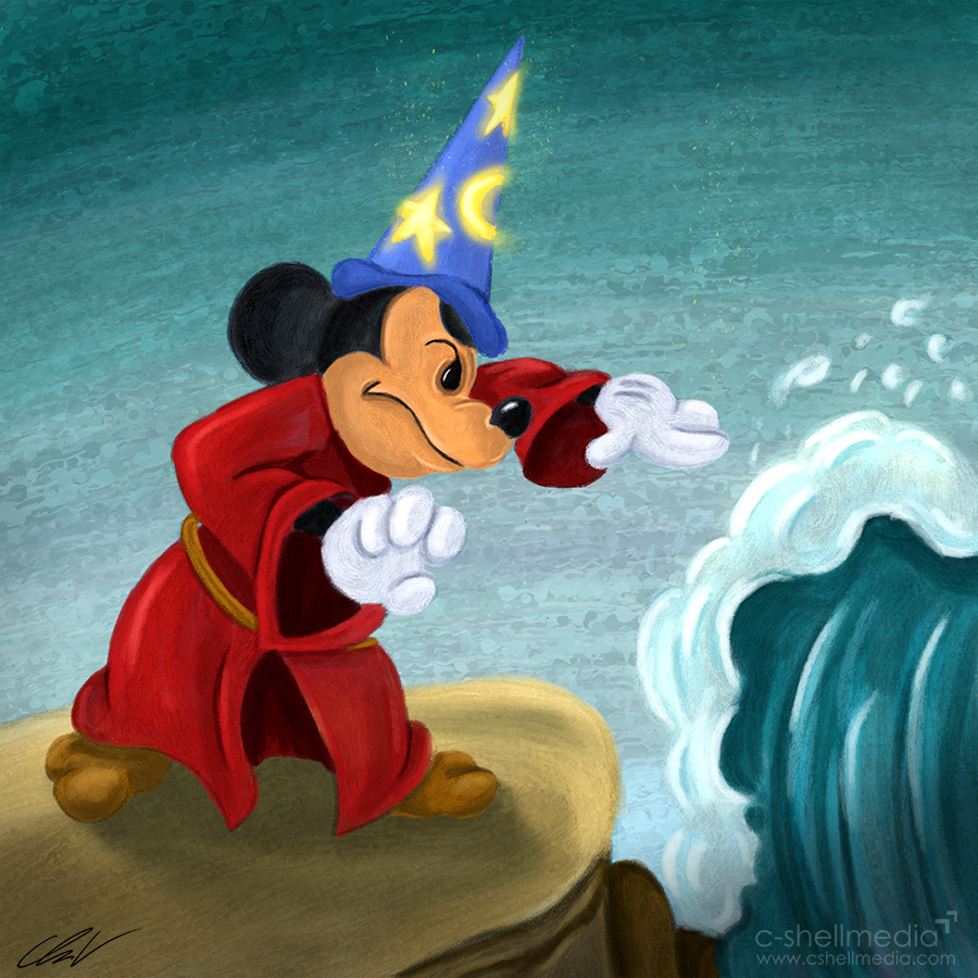 Fan Art - Mickey Fantasia