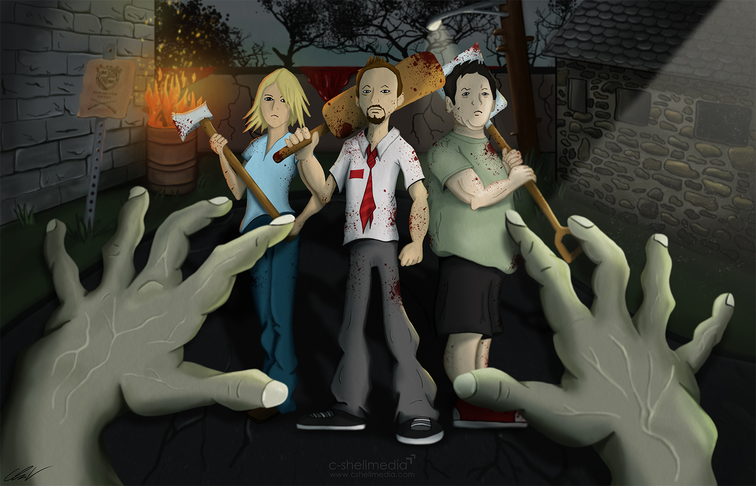 Fan Art - Shaun of the Dead