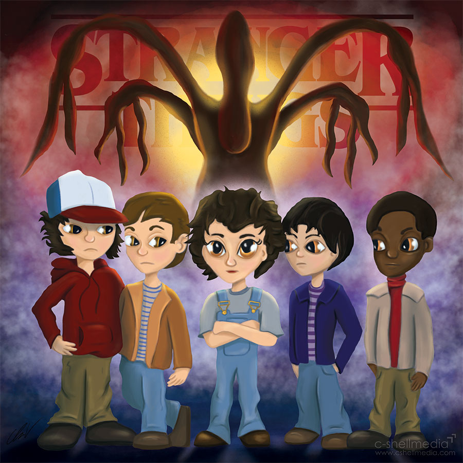 Fan Art - Stranger Things